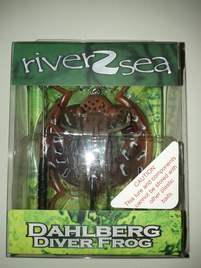 Dahlberg Diver Frog i förpackningen